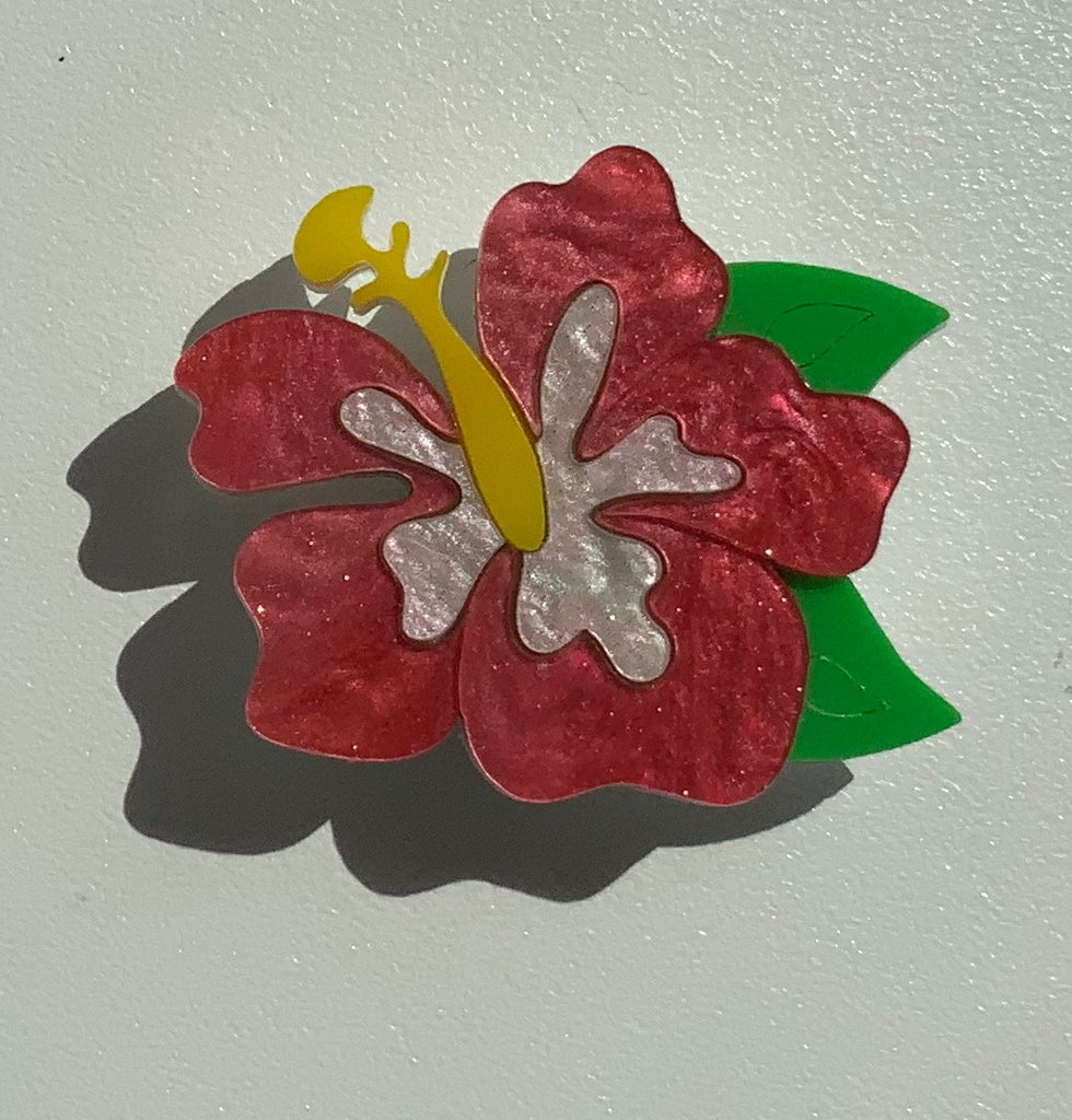 Happy Hibiscus Brooch