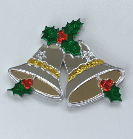 Silver Bells Brooch