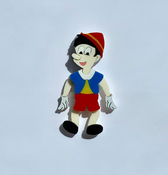 Articulated Pinocchio Brooch