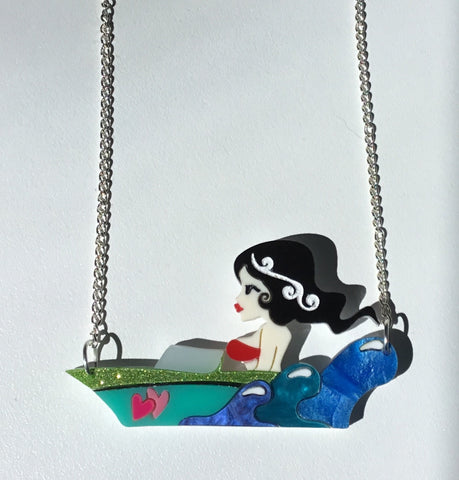 Suzie Splash Necklace