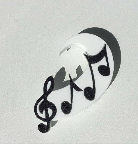 Let the Music Play Brooch