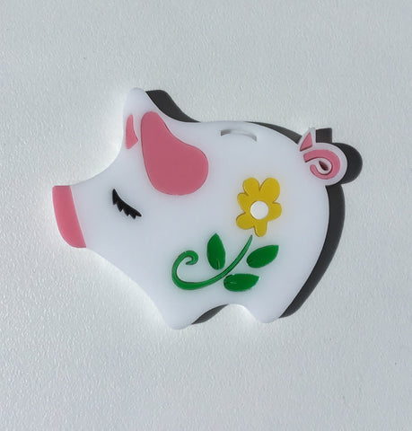 Penny the Piggybank Brooch