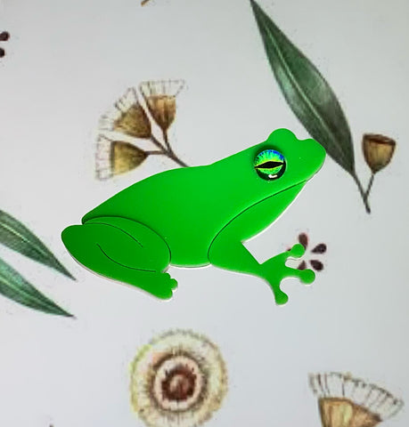 Fabio the Frog Brooch