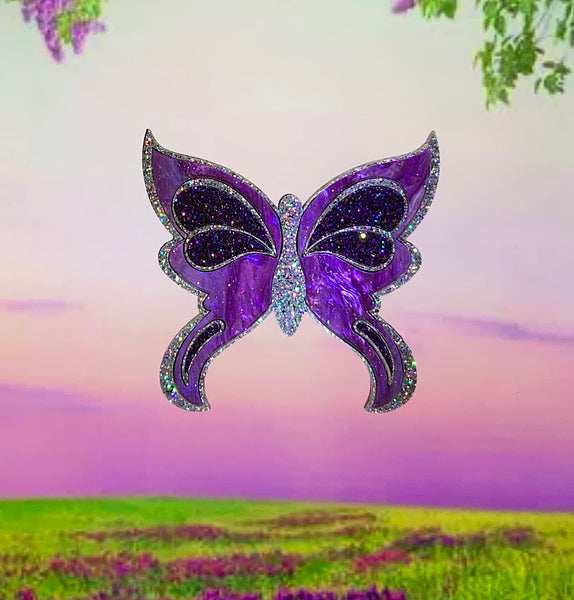 Enchanted Butterfly Brooch