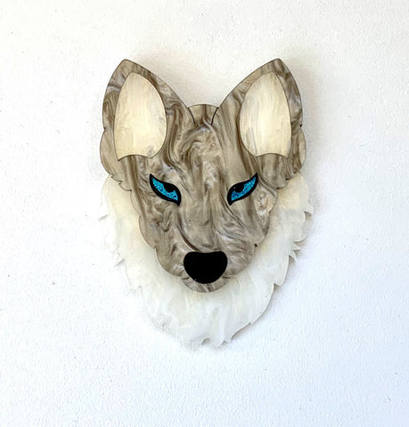 Brother Wolf Brooch