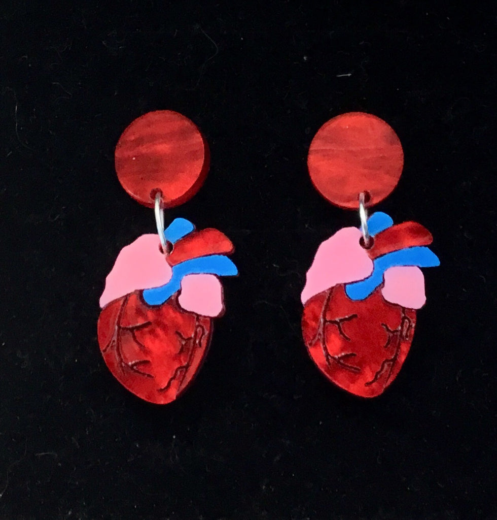 Be Still my Beating Heart Earrings