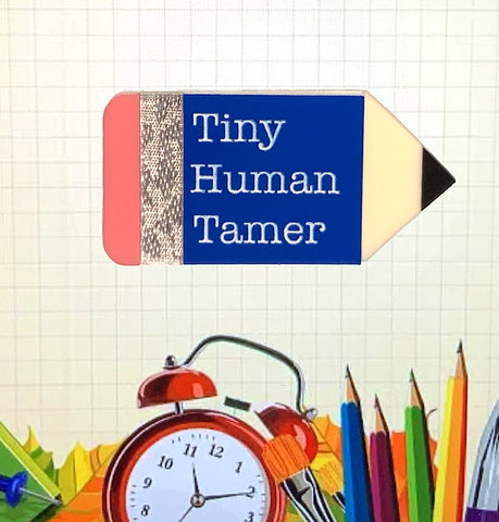 'Tiny Human Tamer' Pencil Brooch