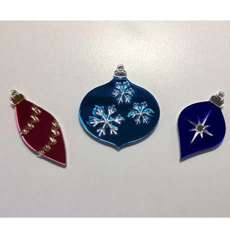 Triple Bauble Brooch Set