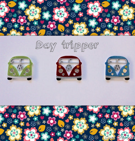 Day Tripper Brooch
