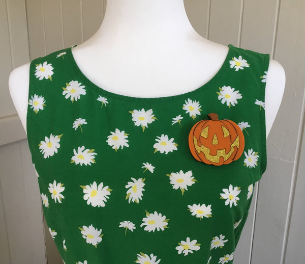 Perry the Pumpkin Brooch