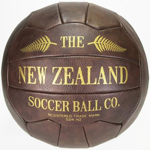 Vintage Look Soccer Ball - Rosie's Gifts and Homeware - Gift Shop NZ