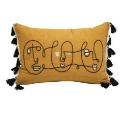 Stoneleigh & Roberson Cushion - Mustard- Rosies gifts and homeware