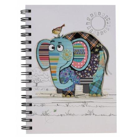 Bug Art Notebook - Eric Elephant - Rosie's Gift and Homeware - Gift Shop