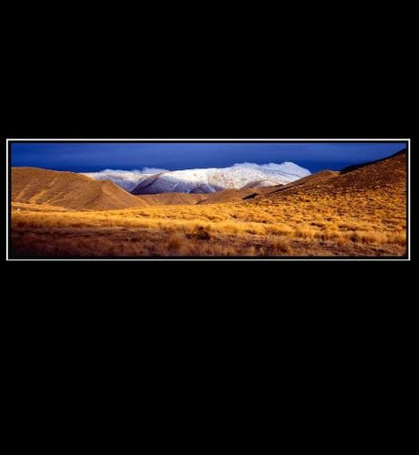 Canvas - Lindis Pass Winter - Rosie's Gifts and Homeware - Gift Shop NZ