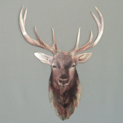 Wall Art - Red Stag Head - Rosie's Gift Shop & Homewares - Gift Shop NZ