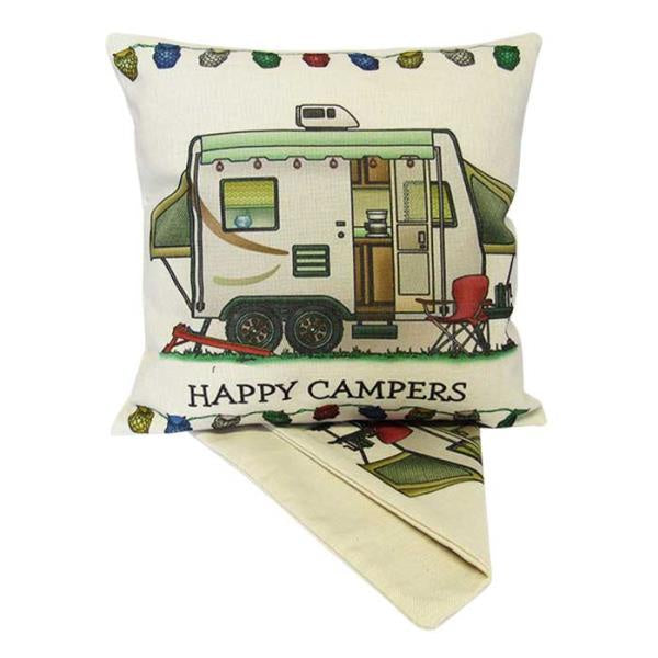 Happy Campers Cushion - Pop Out
