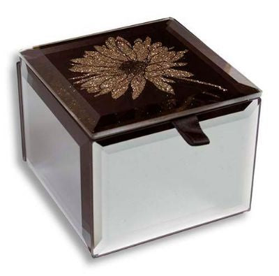 Bling Mini Trinket Box Gerbera