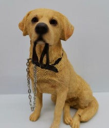 Ornament - Golden Lab with Lead - Rosie's Gift Shop and Homeware