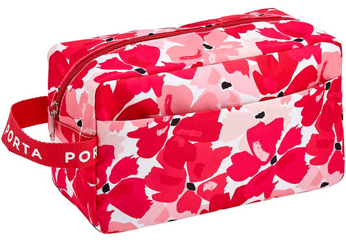 Pamper Large Cosmetic Bag - Pretty in Pink