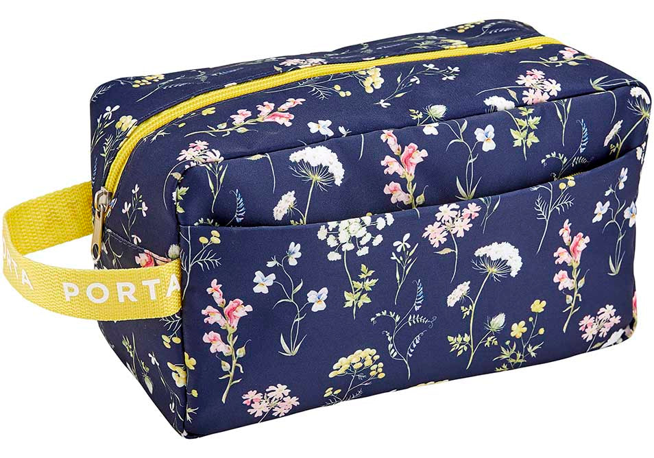 Pamper Large Cosmetic Bag - Blooms