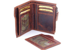 Wallet- Mens Vintage Collection Fold Over Wallet - Rosie's Gift Shop