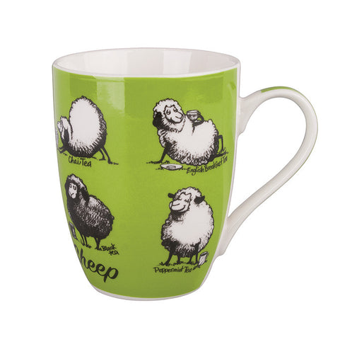 Mug Tea Time Sheep - Rosie's Gifts and Homeware - Gift Shop Nz