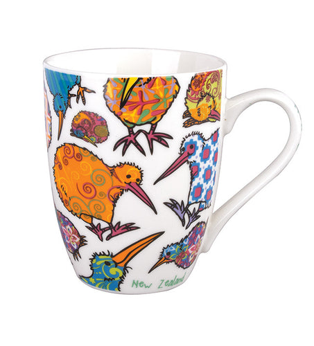 Mug Kaleidoscope Kiwi - Rosie's Gifts and Homeware - Gift Shop NZ