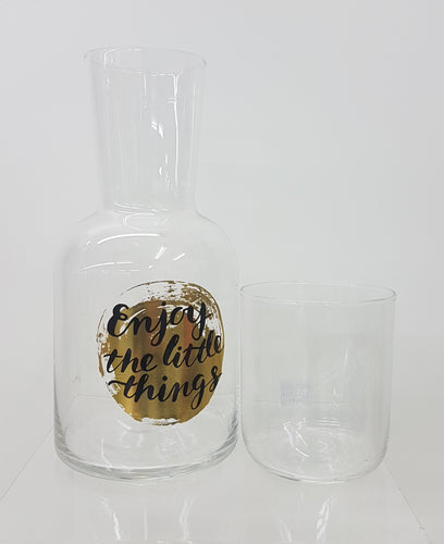 Carafe & Glass Set - Rosie's Gifts and Homeware - Gift Shop NZ