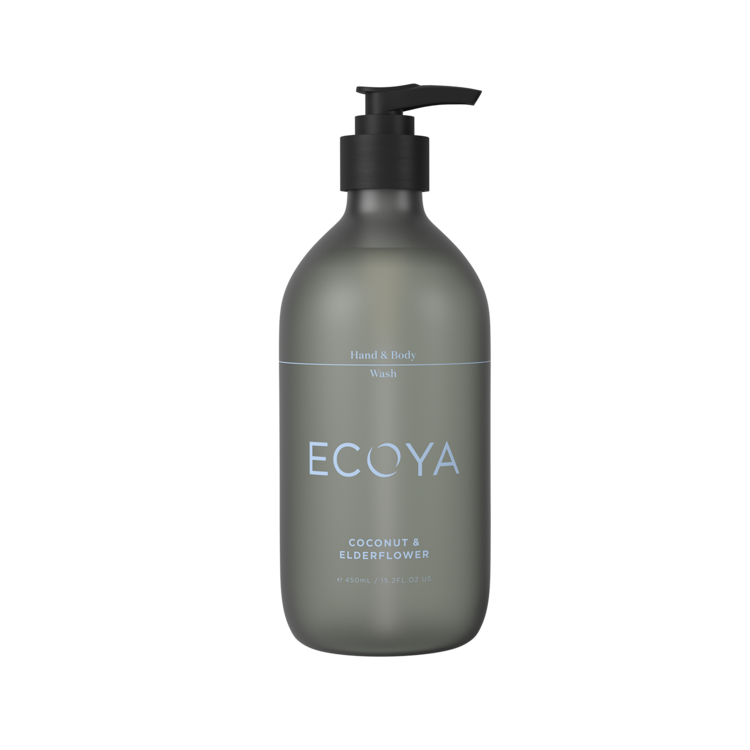 Ecoya Hand & Body Wash - Coconut & Elderflower - Rosie's Gifts and Homeware