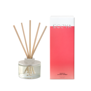 Ecoya Mini Diffuser - Guava And Lychee 50ml - Rosie's Gifts & Homeware