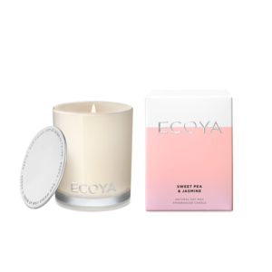 Ecoya Mini Madison Candle - Sweet Pea & Jasmine - Rosie's Gift & Homeware