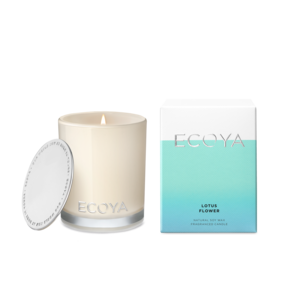 Ecoya Mini Madison Candle - Lotus Flower - Rosie's Gift and Homeware