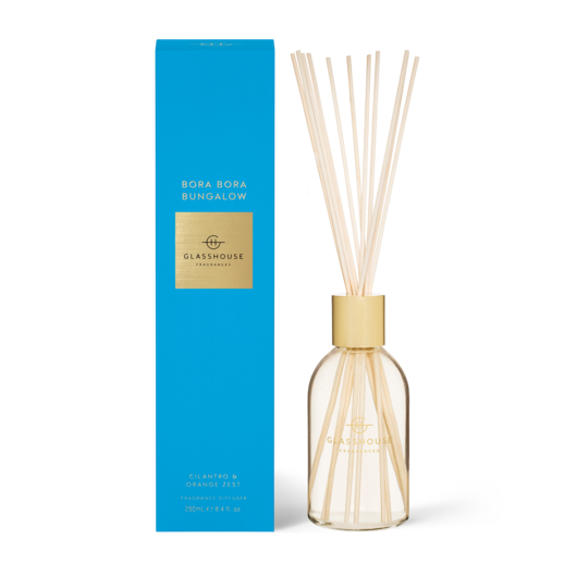 Glasshouse Fragrances - Diffuser - BORA BORA BUNGALOW - Rosies Gifts