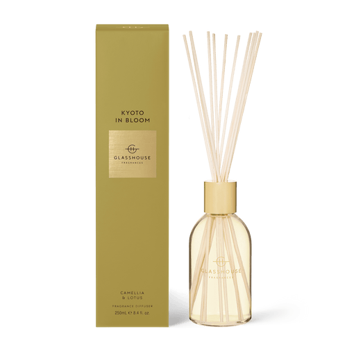 Glasshouse Fragrances - Diffuser - KYOTO IN BLOOM - Rosies Gifts