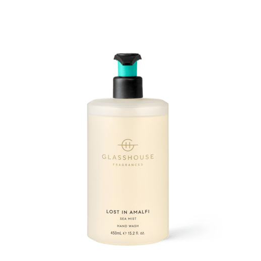 Glasshouse Fragrances - Hand Wash 450ml - LOST IN AMALFI - Rosie's Gifts