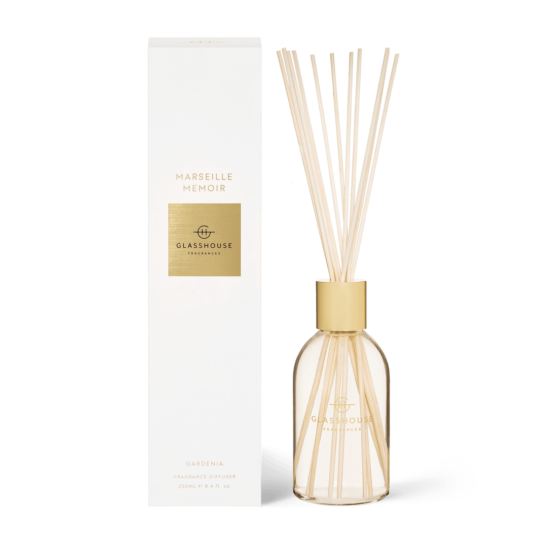 Glasshouse Fragrances - Diffuser - MARSEILLE MEMOIR - Rosies Gifts