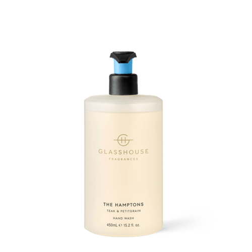 Glasshouse Fragrances - Hand Wash 450ml - THE HAMPTONS - Rosie's Gifts
