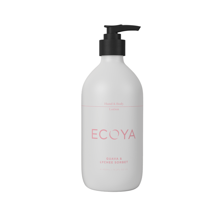 Ecoya Hand & Body Lotion - Guava & Lychee- rosies gifts and homeware