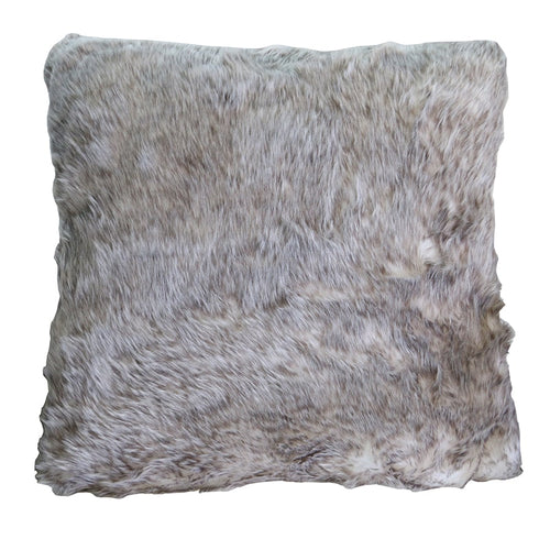 Cushion - Faux Fur - Tar- Rosie's Gifts and Homeware - Gift Shop NZ