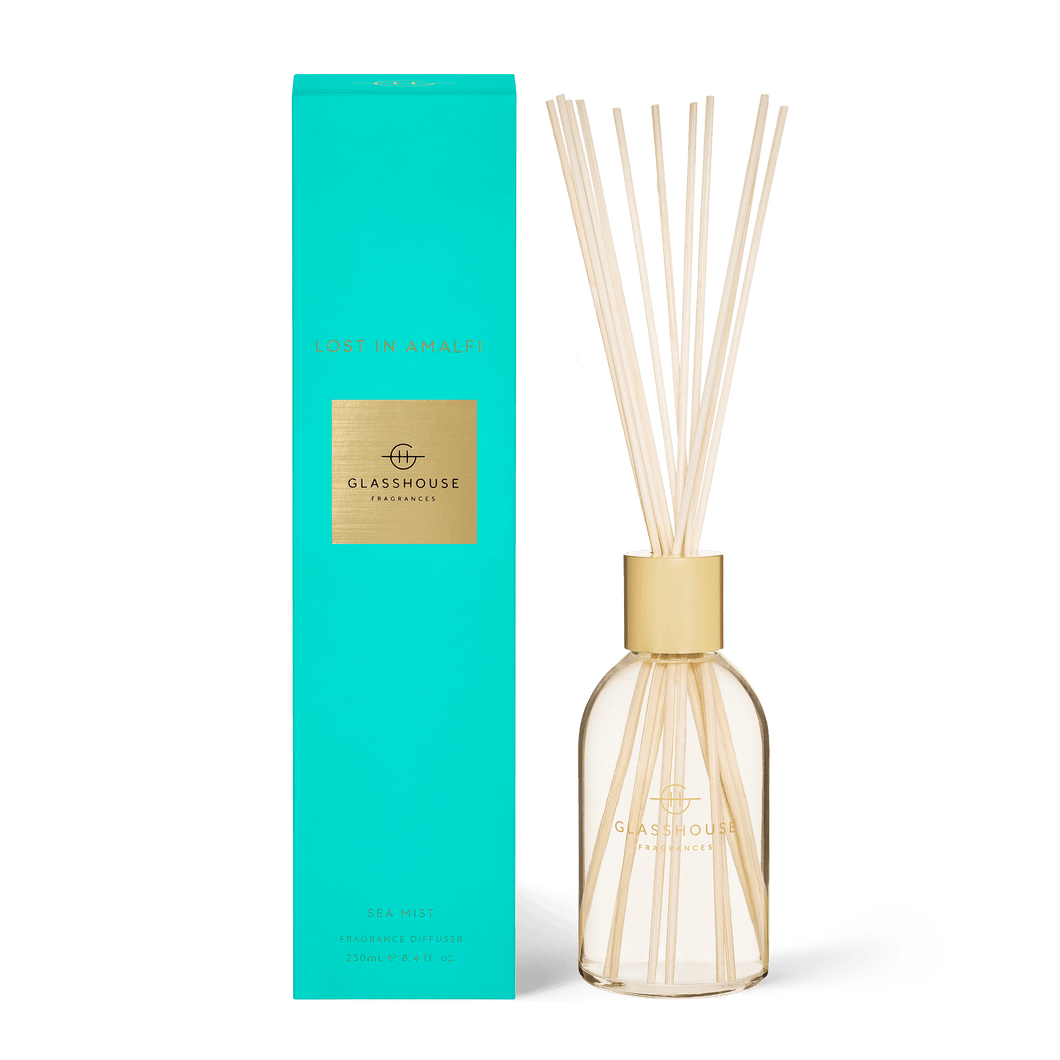 Glasshouse Fragrances - Diffuser - LOST IN AMALFI - Rosies Gifts