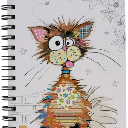 Bug Art Notebook - Ziggy Cat - Rosie's Gift and Homeware - Gift Shop