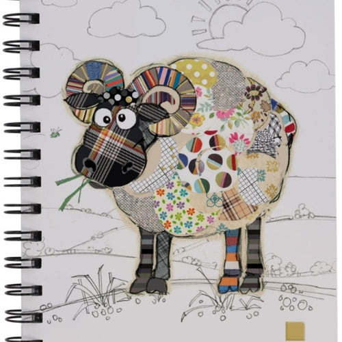 Bug Art Notebook - Raymond Ram - Rosie's Gift and Homeware - Gift Shop
