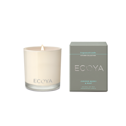 Ecoya Maisy Jar Kitchen Candle - Juniper Berry & Mint
