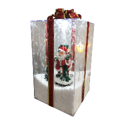 Santa Snowing Gift Box - Rosie's Gifts and Homeware - Gift Shop NZ
