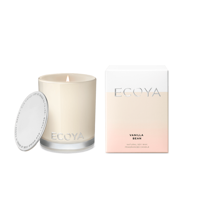 Ecoya Mini Madison Candle - Vanilla Bean- rosies gifts and homeware
