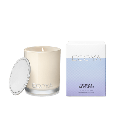 Ecoya Mini Madison Candle - Coconut & Elderflower - Rosie's Gifts & Homeware