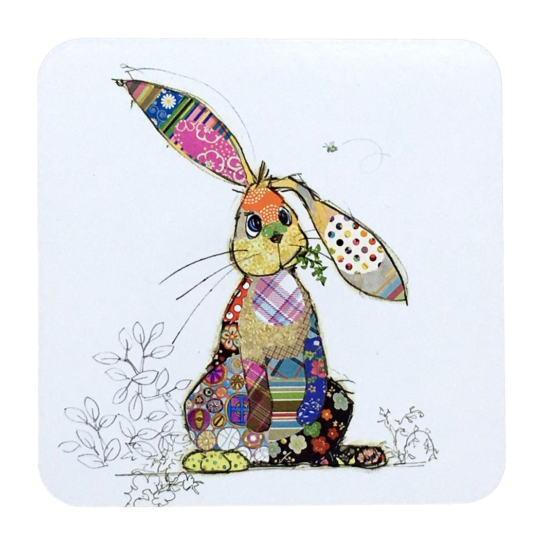 Bug Art Coaster - Binky Bunny- rosies gifts nz