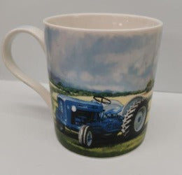 Mug - Blue Tractor - Rosie's Gift Shop and Homeware