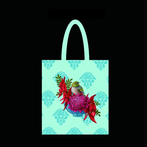 Tote Bag - Waxeye - Rosie's Gifts and Homeware - Gift Shop NZ