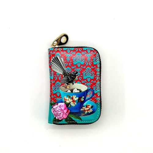 Card Holder Purse - Fantail - Rosie's Gifts and Homeware - Gift Shop NZ